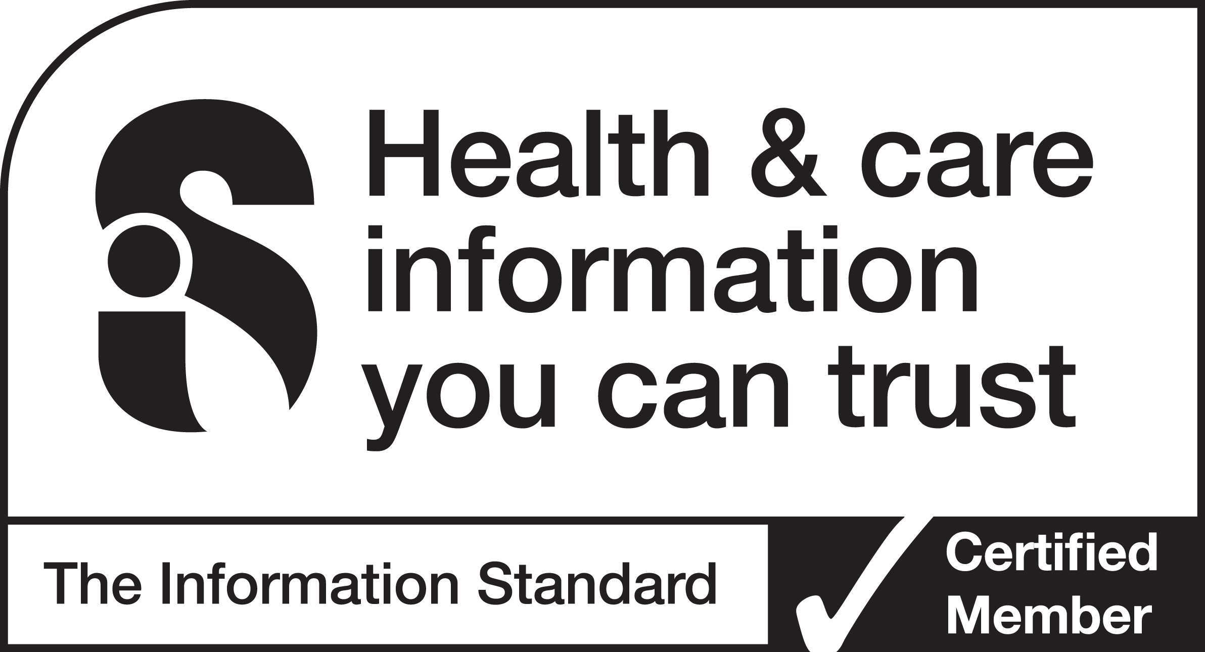 Information Standard Logo. Click here to find out more about the information standard.
