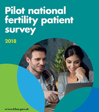 national fertility patient survey front cover
