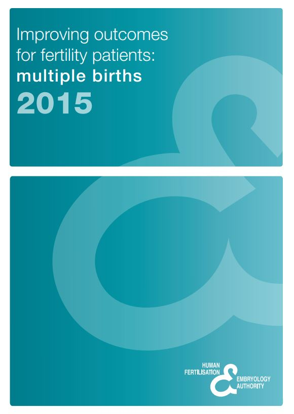 Multiple births report front cover