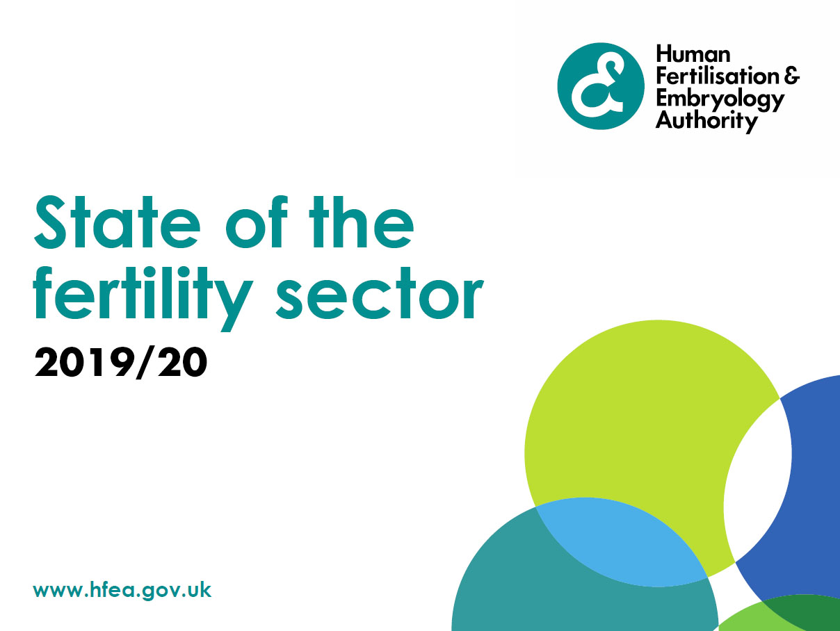 State of the fertility sector 2019/20 report cover
